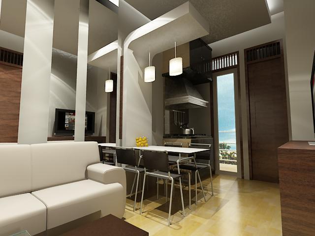Design interior apartemen surabaya