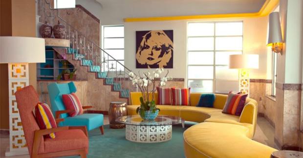 apartemen dengan gaya vintage