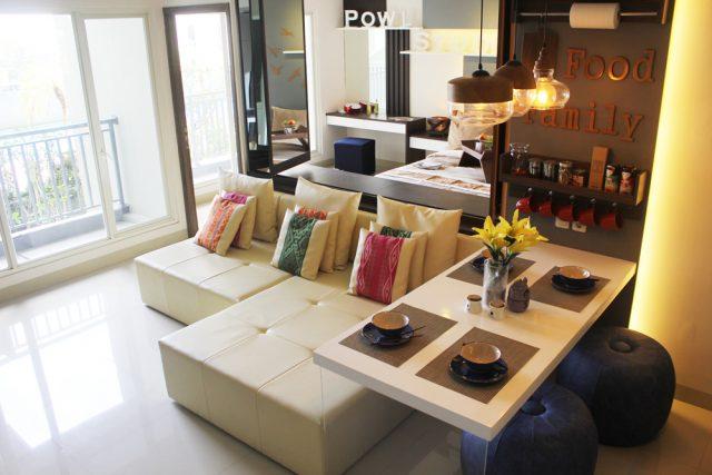 interior apartemen di surabaya