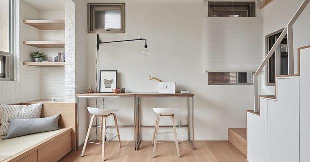 desain apartemen studio tipe 21