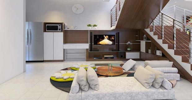desain apartemen tipe 36