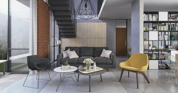 interior apartemen mewah