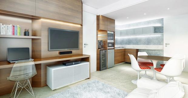 biaya interior apartemen studio