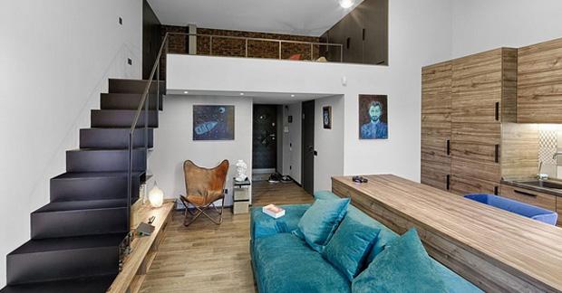 Interior Apartemen Tanpa Sekat