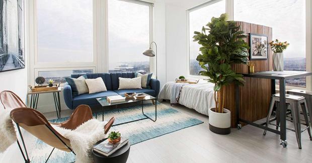 furniture apartemen tipe studio
