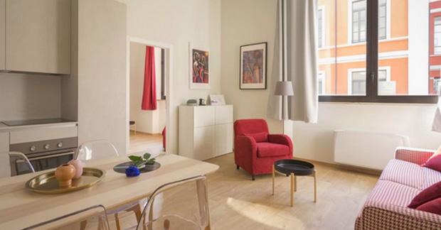Interior Apartemen Sederhana