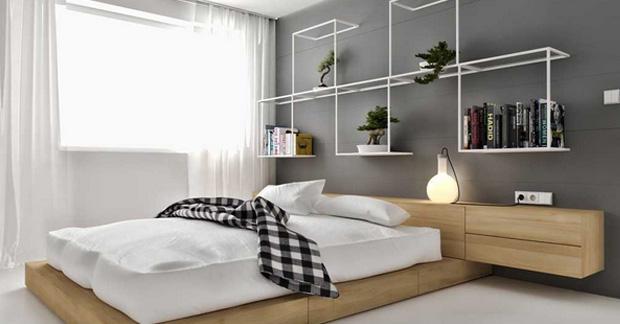 model kamar apartemen
