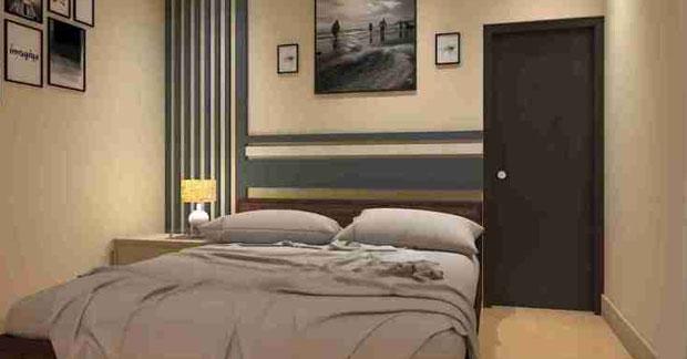 interior apartemen kamar tidur