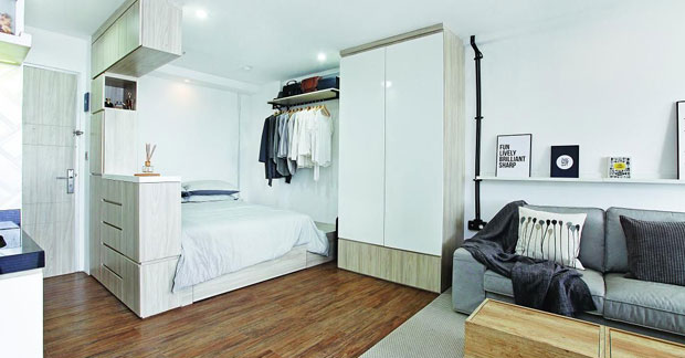 Interior Apartemen 33m2