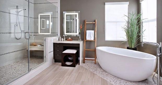 interior apartemen kamar mandi